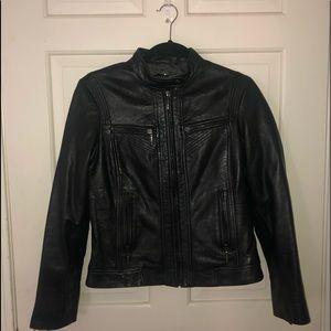 BERNARDO Luxe Leather Jacket